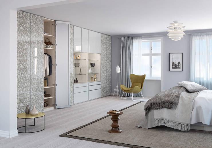 modern Bedroom by CABINET Schranksysteme AG