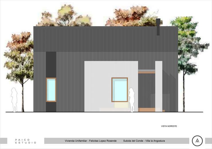 Vista Acceso: Casas de estilo  por Paico,