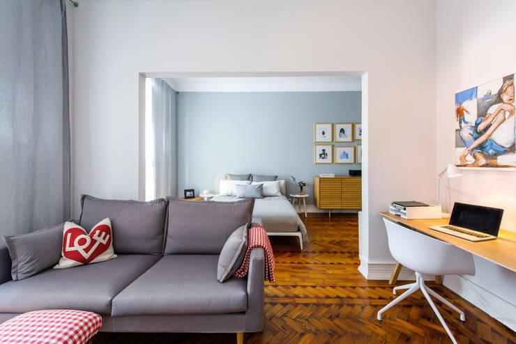 Apartamento Lisboa : Quartos  por Espaço Mínimo