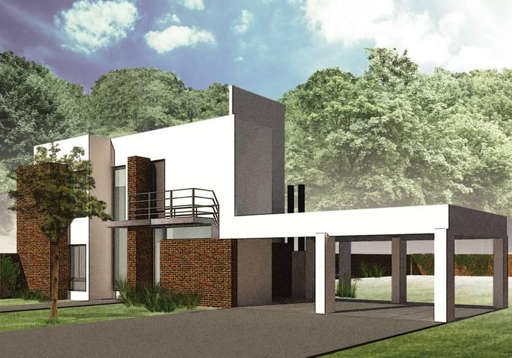Proyecto de Ampliación: Casas de estilo  por Estudio AM Arquitectura,Moderno
