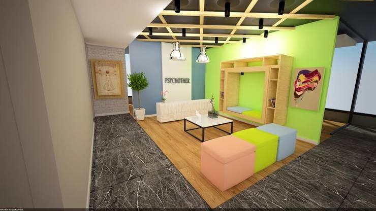 DEKORKUR  Mimarlık  – Çalışmalar:  tarz Oturma Odası