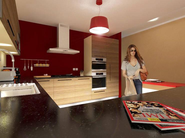 Projecto de Remodelação na Marisol: Garagens e arrecadações  por Projectos Arquitectura & 3D