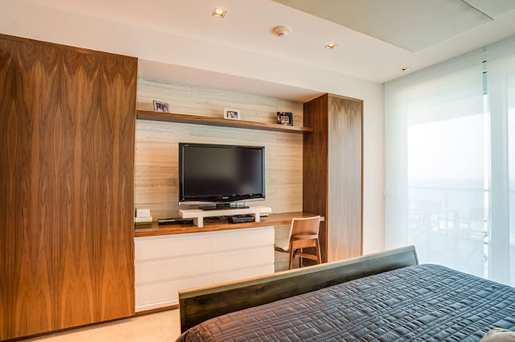 Dormitorios de estilo moderno por Art.chitecture, Taller de Arquitectura e Interiorismo 📍 Cancún, México.