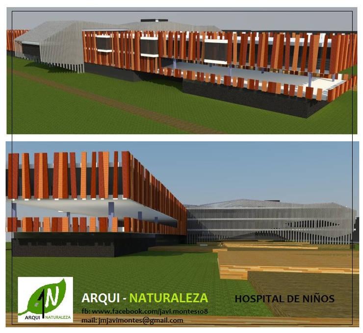 hospital de niños:  de estilo  por ARQUI - NATURALEZA