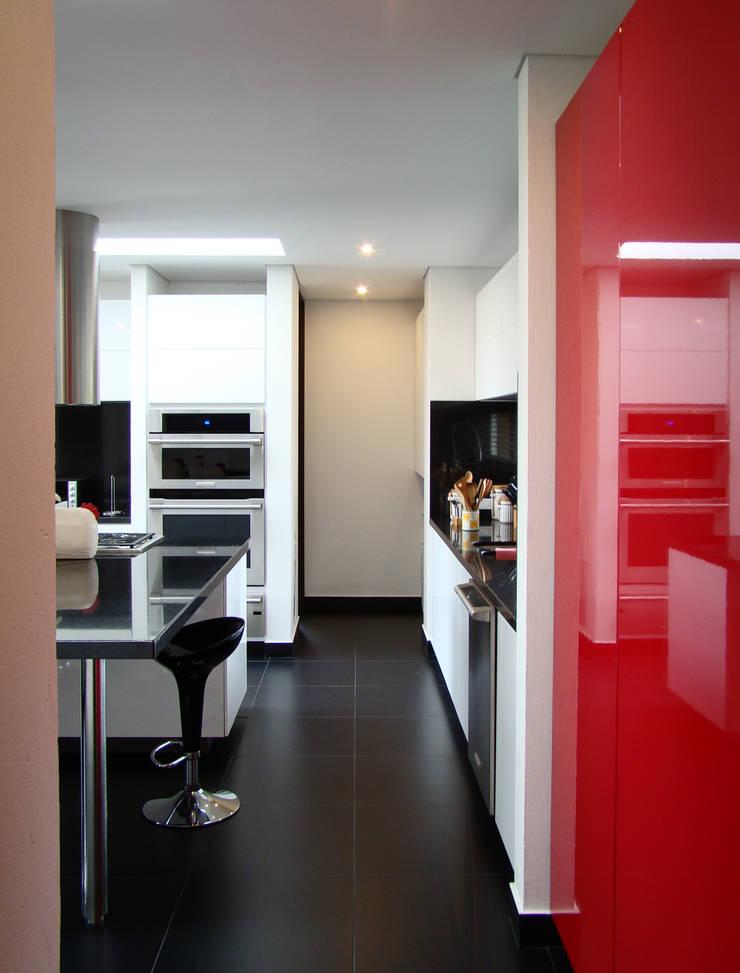 Casa del Portico: Cocinas de estilo  por David Macias Arquitectura & Urbanismo