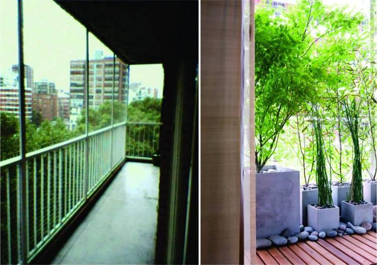 de estilo  por Verde Urbano Arquitectura
