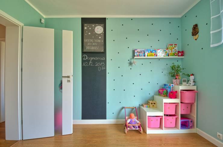 غرفة الاطفال تنفيذ Biuro Projektów MTM Styl - domywstylu.pl