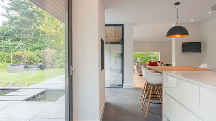 Кухни в . Автор – Joep van Os Architectenbureau