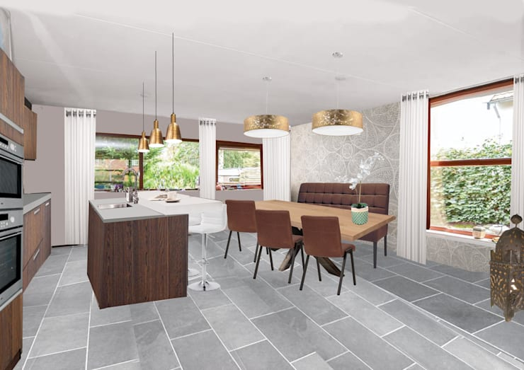 Keuken Modern Open : Exotisch modern by sabka design homify