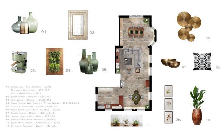 Project voorbeeld 1:   door Sabka Design