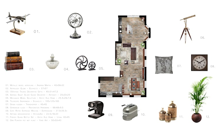 Proejct voorbeeld 2:   door Sabka Design