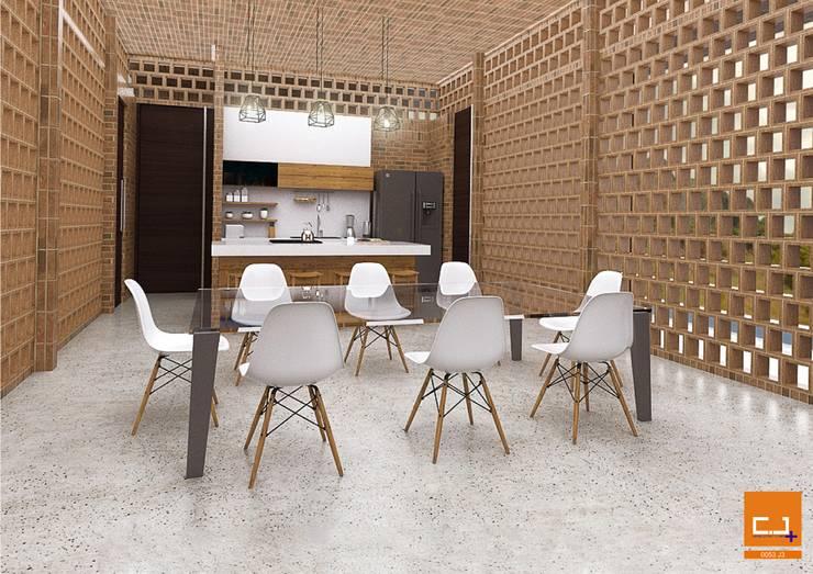 Entre Calados.:  de estilo  por Cj+ Arquitectura