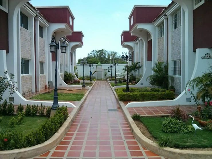 Villa: Casas de estilo  de AC. Arquitectura e Interiorismo