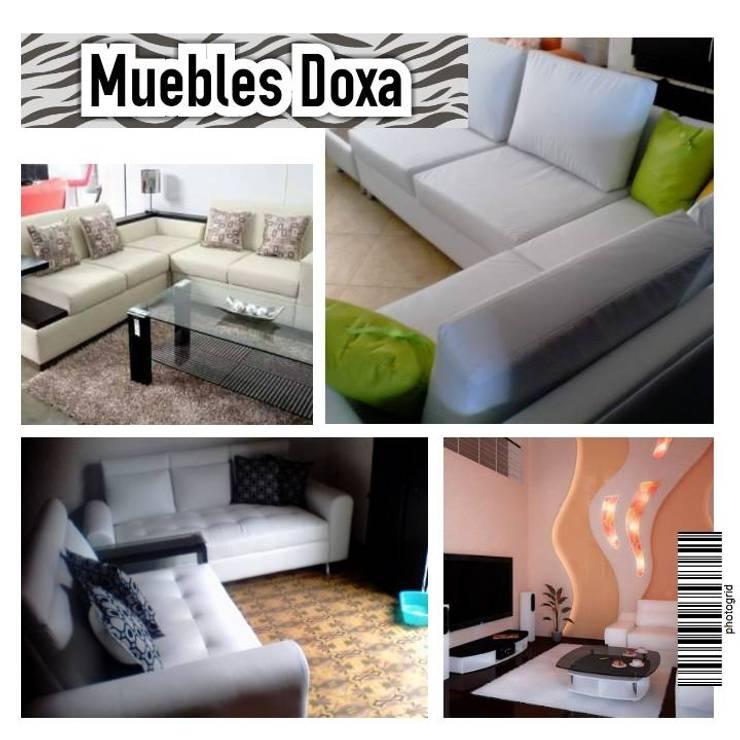 Muebles Modernos para el hogar.: Hogar de estilo  por MUEBLES DOXA