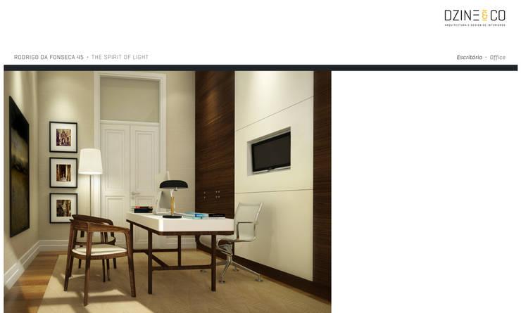 The Spirit of Light: Escritórios e Espaços de trabalho  por DZINE & CO, Arquitectura e Design de Interiores