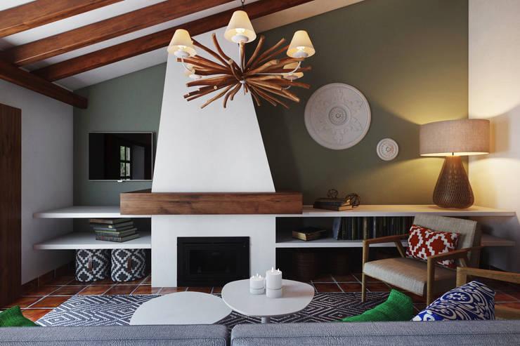 Small Hotel – Costa Algarvia: Hotéis  por DZINE & CO, Arquitectura e Design de Interiores