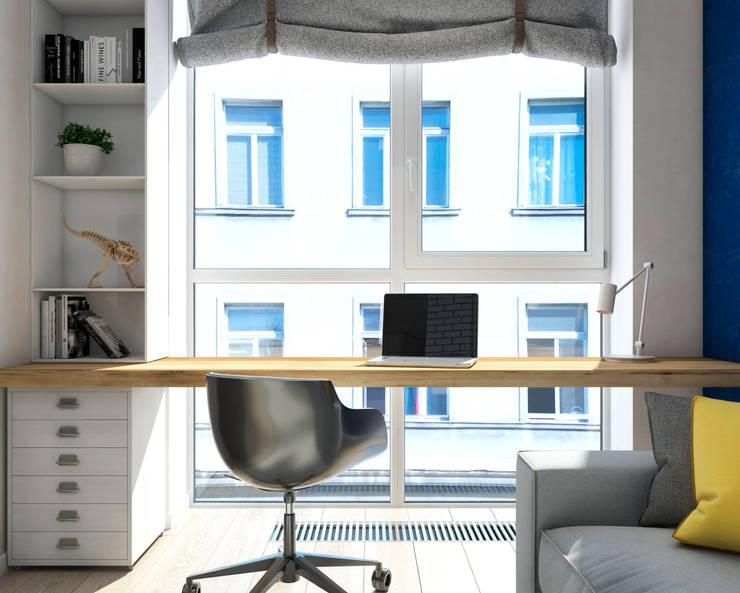 Рабочий кабинет: Рабочие кабинеты в . Автор – tatarintsevadesign
