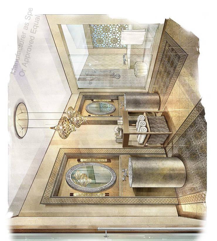 Hotel Rabbat: Quartos  por Mdimension