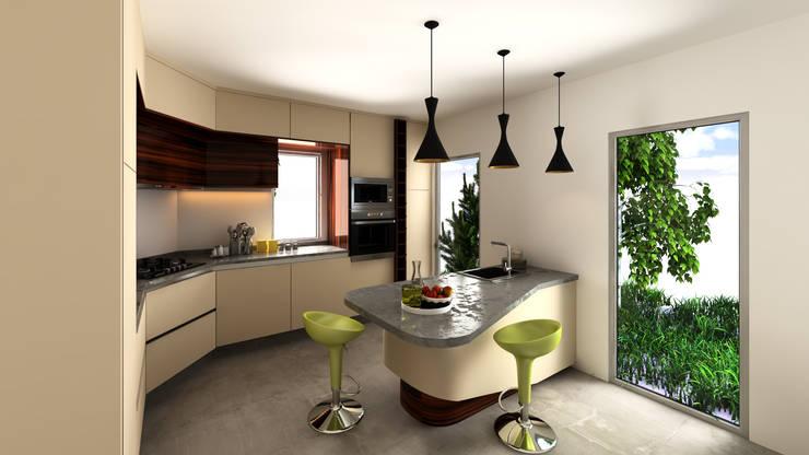 Cozinha Lausanne: Cozinhas  por Mdimension