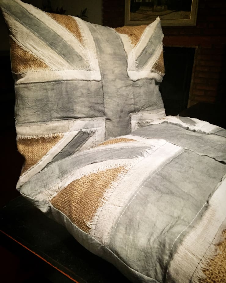 Textiles de CLC: Hogar de estilo  por CLC Arquitectura & Diseño de Interiores