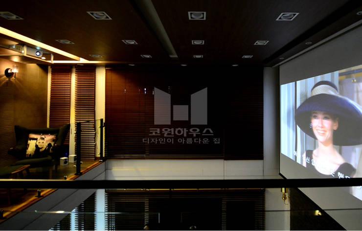 하이실링 구조를 활용한 영화관: 코원하우스의  방