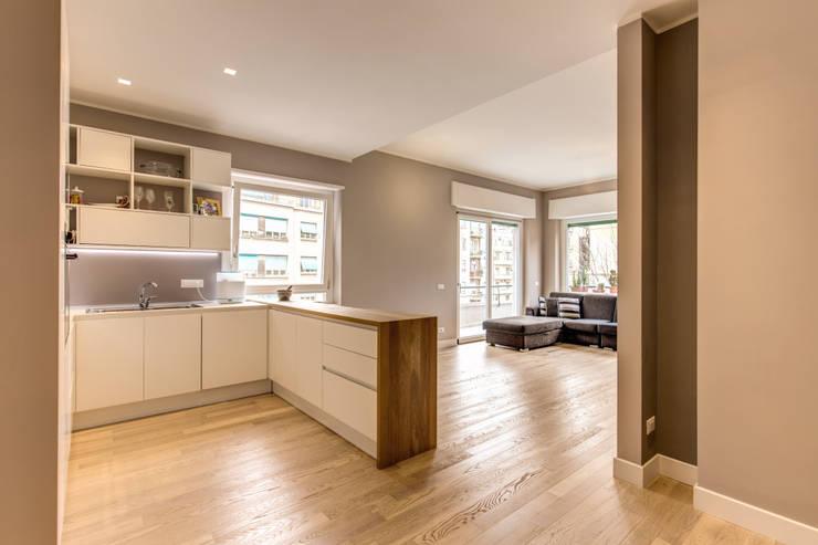 Keuken door MOB ARCHITECTS