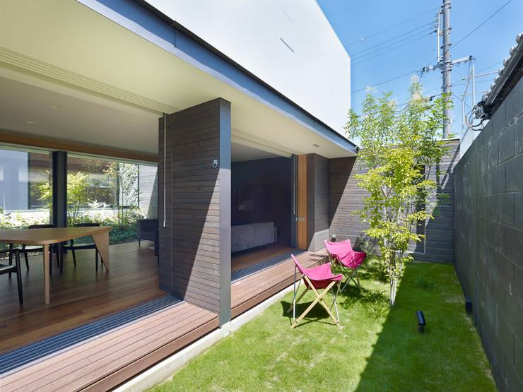 作品: 小松隼人建築設計事務所が手掛けた庭です。