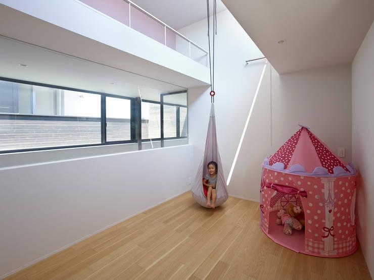 作品: 小松隼人建築設計事務所が手掛けた子供部屋です。