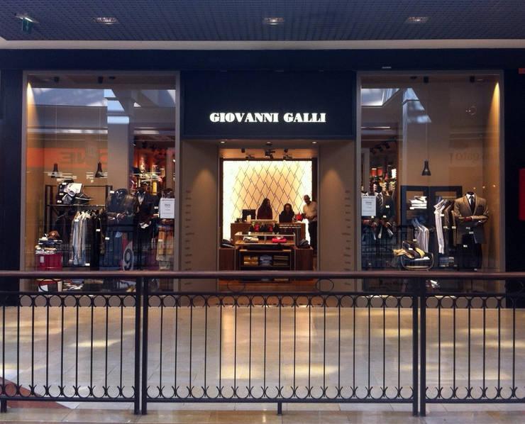 Loja Giovanni Galli_ Gondomar: Lojas e espaços comerciais  por mube arquitectura