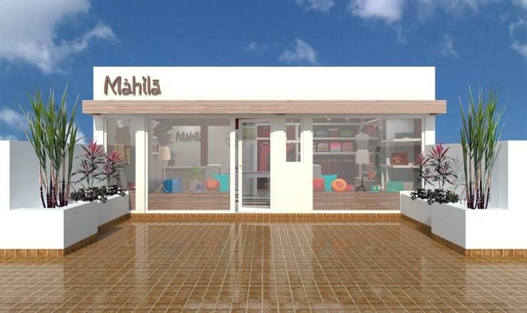 Mahila – Tienda de Ropa Oficinas y comercios de estilo ecléctico de VI Arquitectura & Dis. Interior Ecléctico
