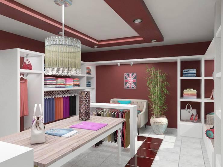 Mahila – Tienda de Ropa Centros comerciales eclécticos de VI Arquitectura & Dis. Interior Ecléctico