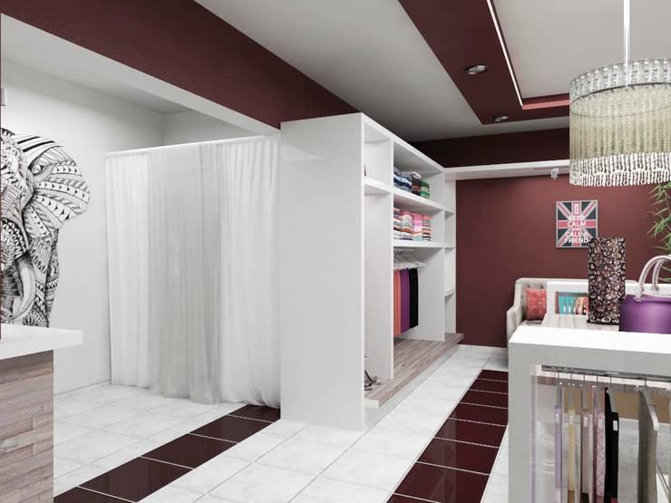 Mahila – Tienda de Ropa Galerías y espacios comerciales de estilo ecléctico de VI Arquitectura & Dis. Interior Ecléctico