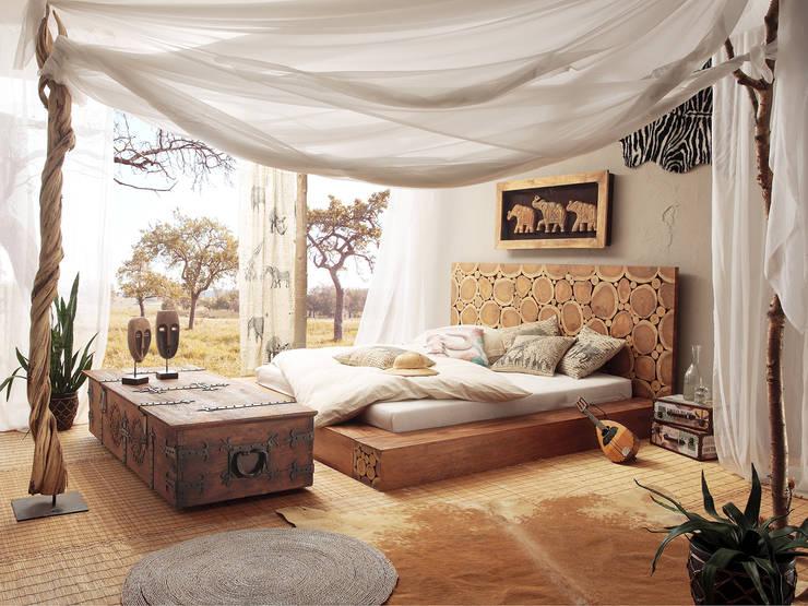 Camera da letto in stile in stile Classico di massivum