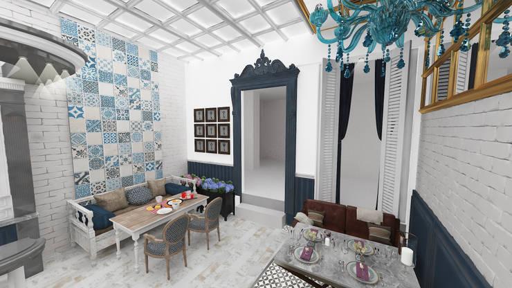 Altuncu İç Mimari Dekorasyon – Laleli '' Sabores Cafe '':  tarz Yeme & İçme