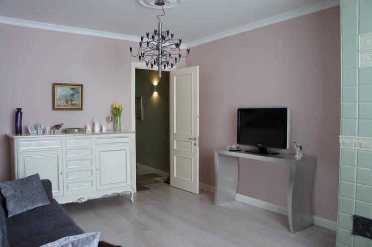 Interior design 1: Гостиная в . Автор – Aleksandra Smagina Design