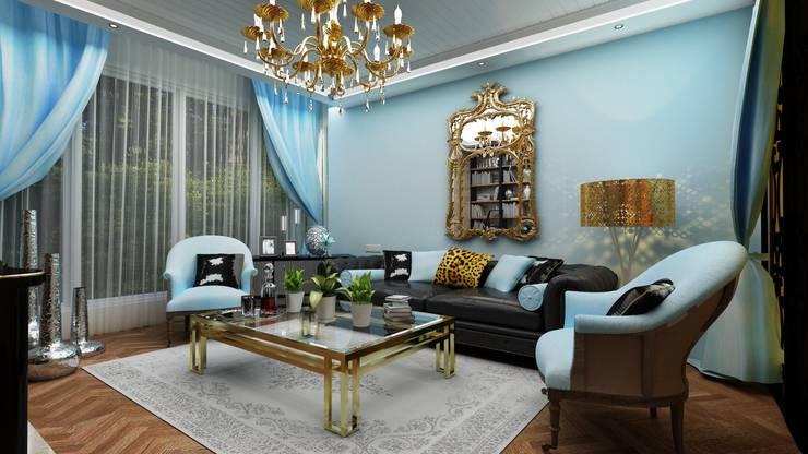 Altuncu İç Mimari Dekorasyon – Çorlu :  tarz Oturma Odası