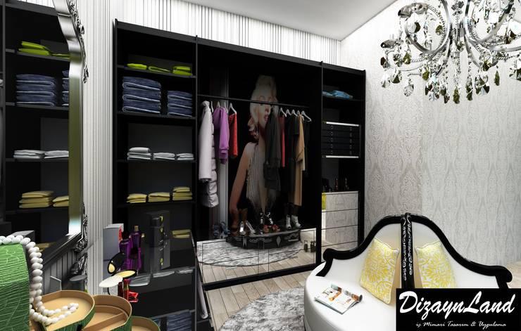 غرفة نوم تنفيذ Altuncu İç Mimari Dekorasyon