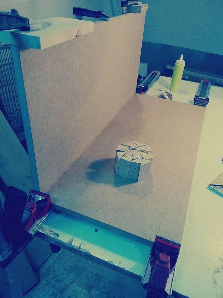- Base para mesa de jantar!: Sala de jantar  por Pode Ser!
