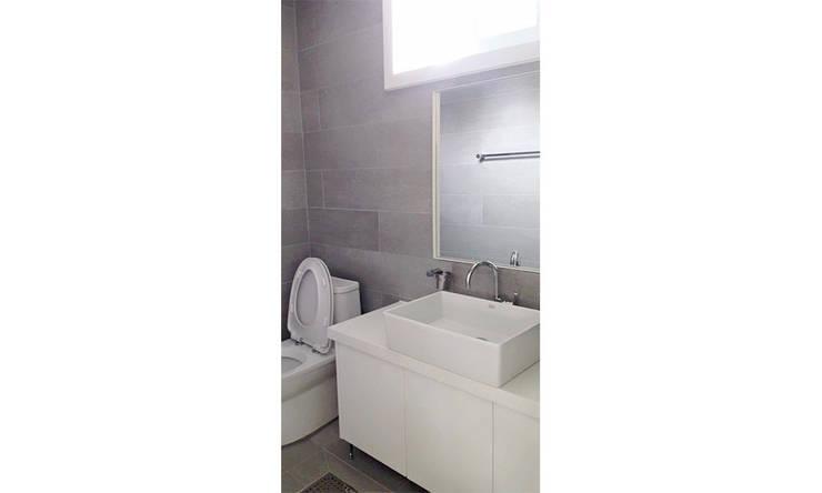 YJ HOUSE : 에이라이브의  욕실