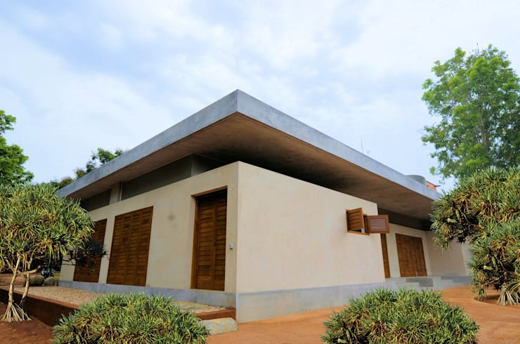 External View from South West:  Pool by C&M Architects,Minimalist