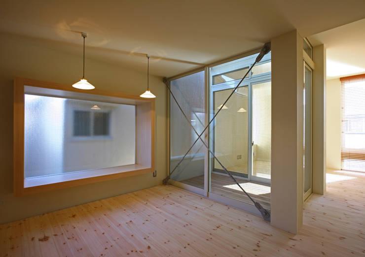 アトリエハコ建築設計事務所/atelier HAKO architects의  다이닝 룸