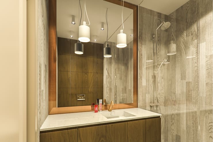 modern Bathroom by Casa Marvell