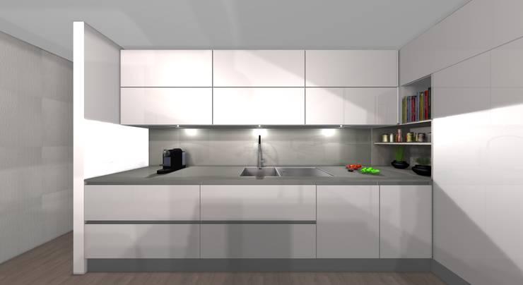 areadesign interiores: Cozinha  por Area design interiores - cozinhas em Braga