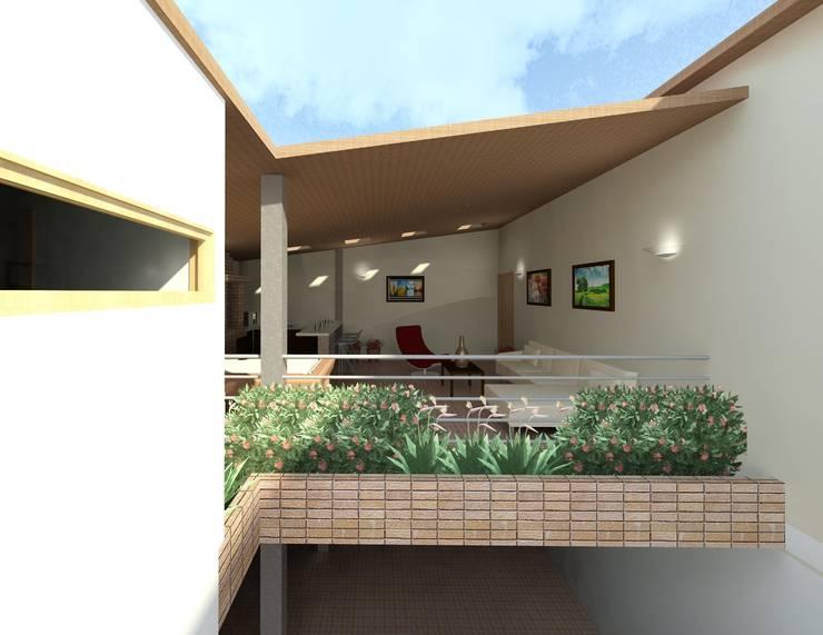 Diseño de área recreacional: Casas de estilo  por Diseño Store