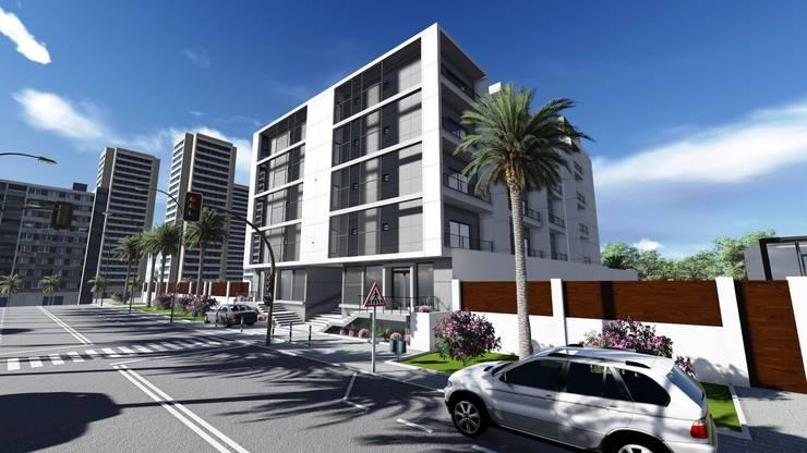 Hotel :   por Gabinete de arquitetura 3D