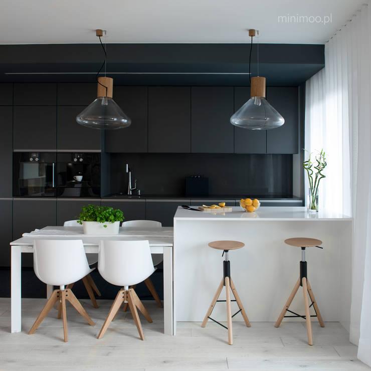 Кухни в . Автор – MINIMOO Architektura Wnętrz