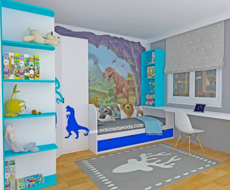 MOBİLYADA MODA  – Dinazor Temalı Çocuk Odası:  tarz Çocuk Odası