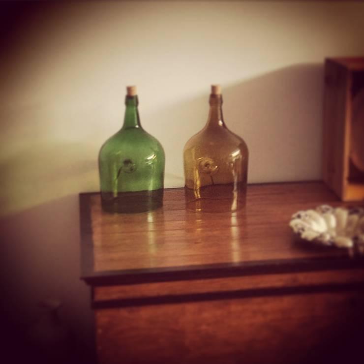 Candeerios de garrafões de 5 litros com base cortada: Casa  por 5L.CincoLitros