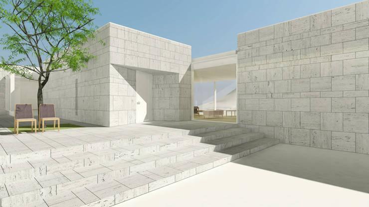 통영 카레클린트 풀빌라: Architects H2L의  주택