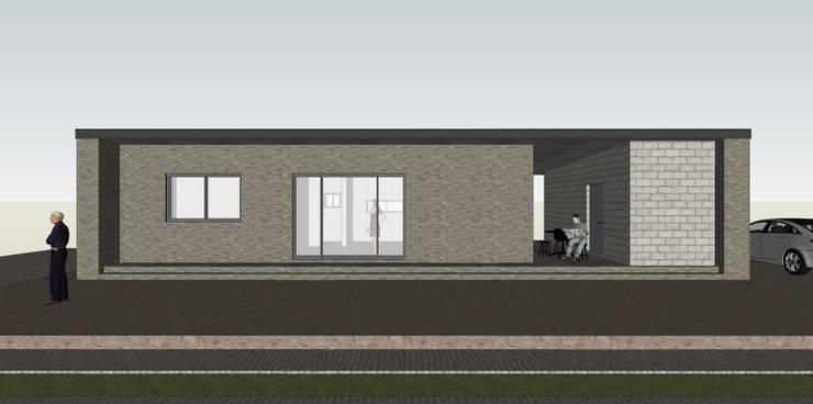 서산 H씨 농가주택: Architects H2L의  주택